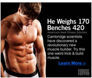 buff model dude in some scam ad